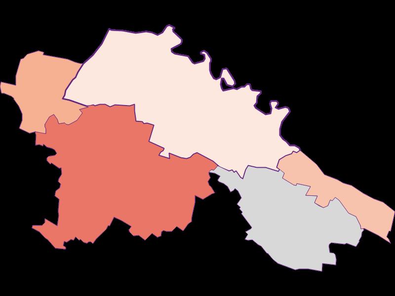 Farmers (comparison to federal state) in Hardegg