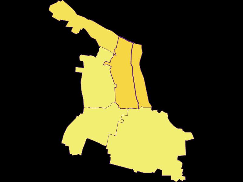 Плотность населения в Haugsdorf