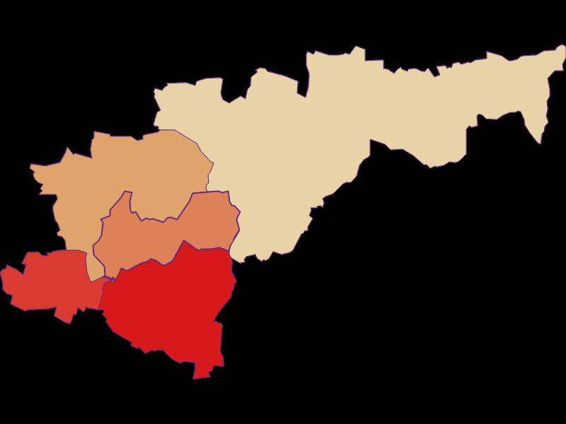 Демография с 1900 года в Heldenberg