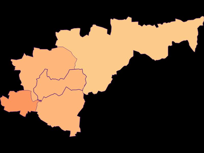 Размер домохозяйства в Heldenberg
