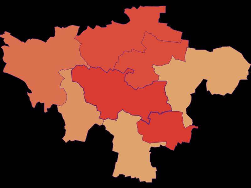 Демография с 1900 года в Hohenwarth-Mühlbach a.M.
