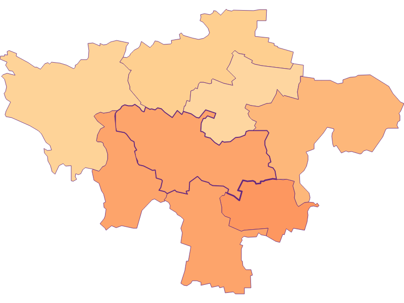 Размер домохозяйства в Hohenwarth-Mühlbach a.M.