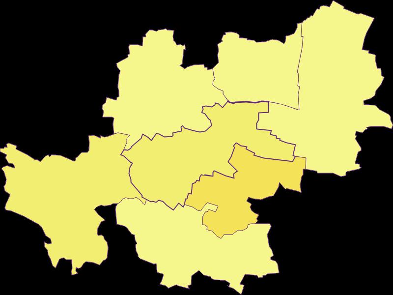 Population density in Maissau
