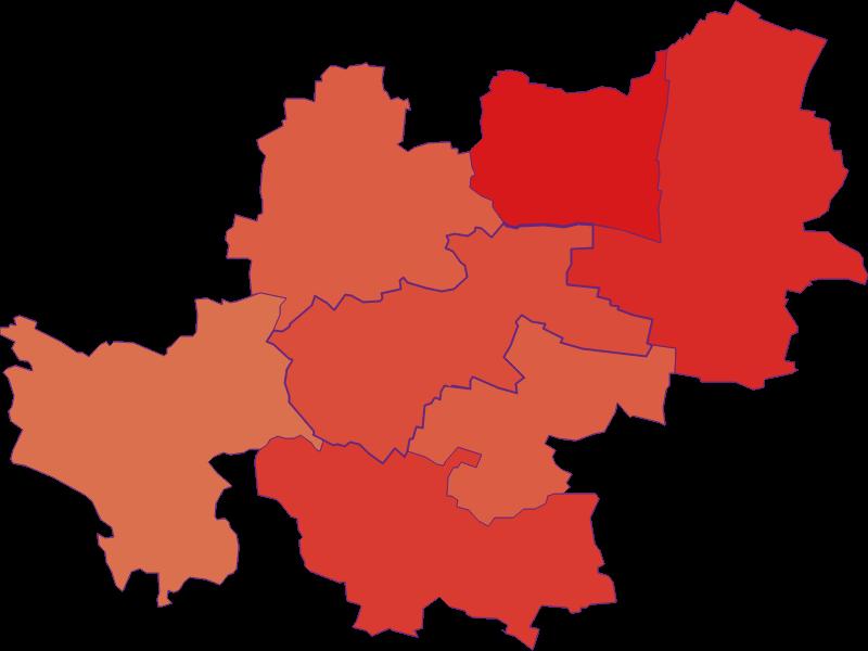 Population development since 1869 in Maissau