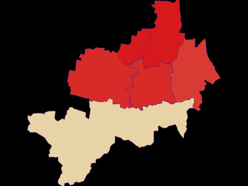 Population development since 1900 in Nappersdorf-Kammersdorf
