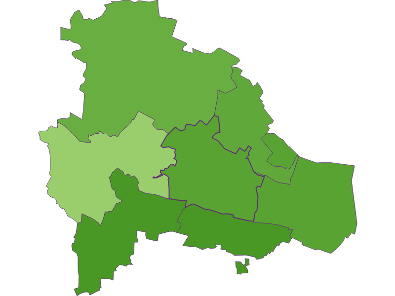 Settlement in Pulkau