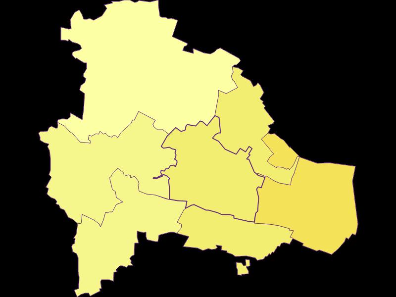 Population density in Pulkau
