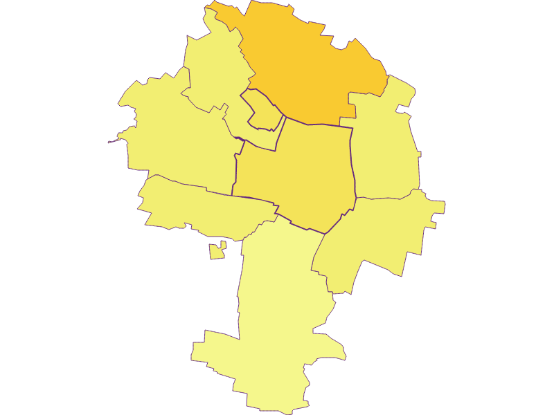 Population density in Zellerndorf