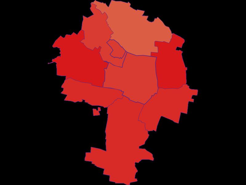 Population development since 1869 in Zellerndorf