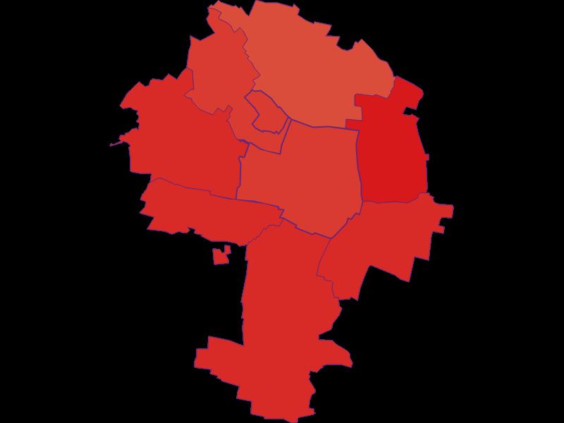 Population development since 1900 in Zellerndorf