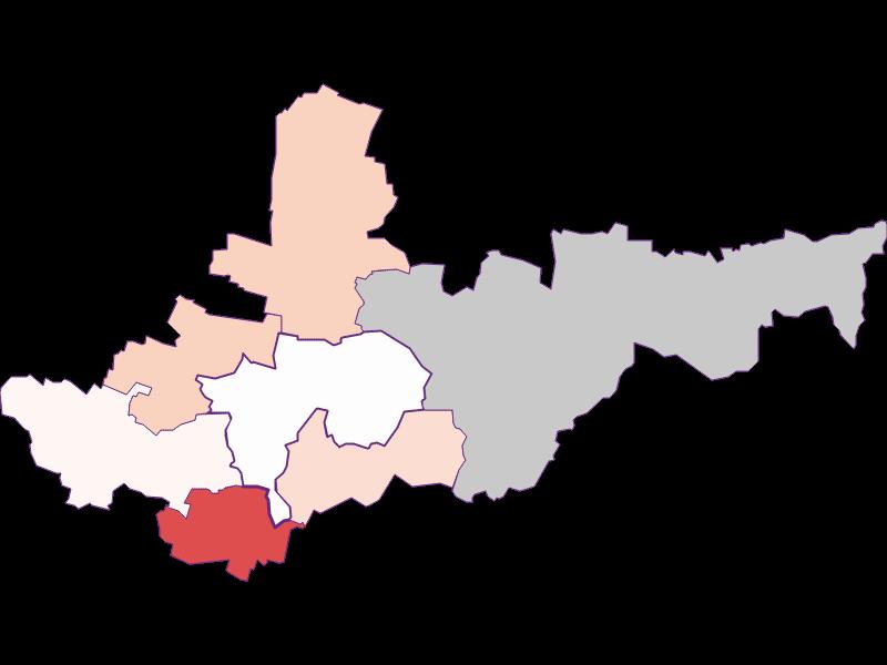 Activity rate in Ziersdorf