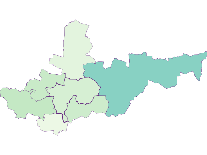 Share of foreigners in Ziersdorf