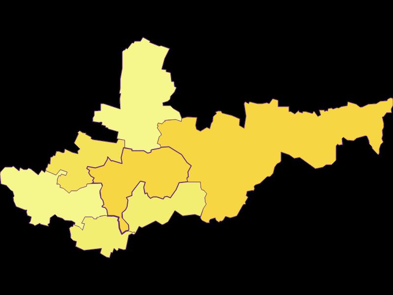 Population density in Ziersdorf