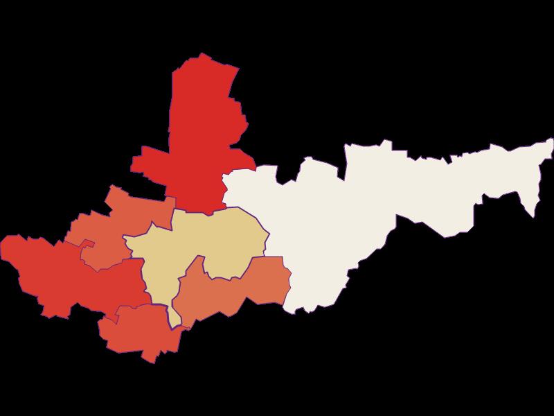 Population development since 1869 in Ziersdorf