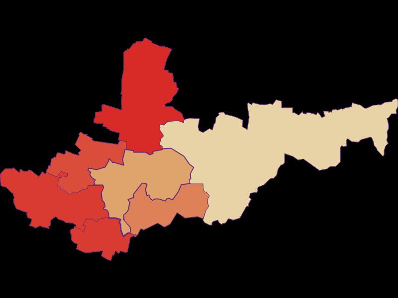 Population development since 1900 in Ziersdorf