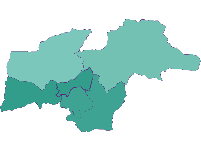 Bevölkerungsentwicklung seit 1900: Seefeld in Tirol - Österreich - Geographie, Wirtschaftskunde, Statistik | Similio