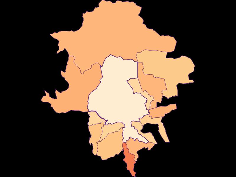 Household size in Innsbruck