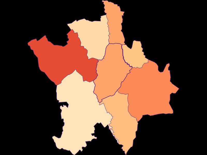 Размер домохозяйства в Deutsch Kaltenbrunn