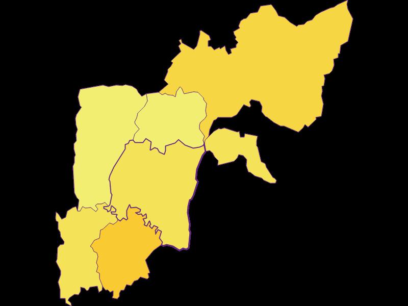 Плотность населения в Heiligenkreuz im Lafnitztal