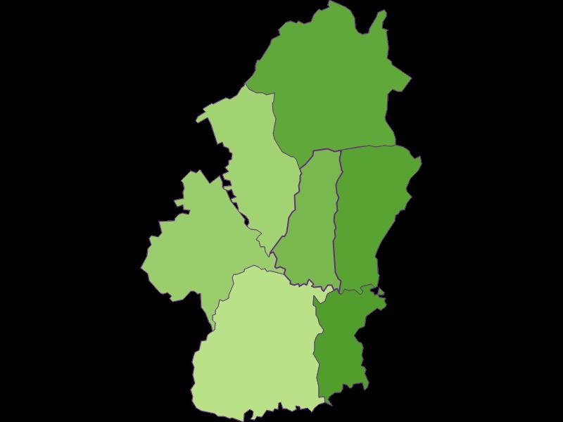Заселенность в Königsdorf