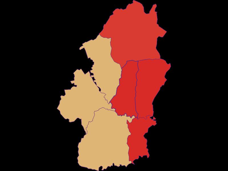 Population development since 1869 in Königsdorf