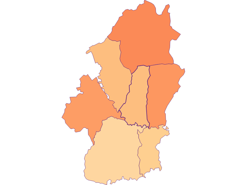 Размер домохозяйства в Königsdorf