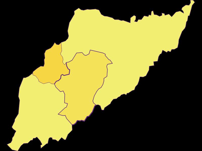 Плотность населения в Minihof-Liebau