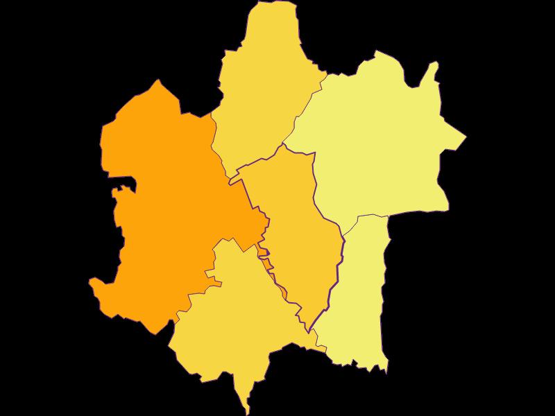 Population density in Rudersdorf