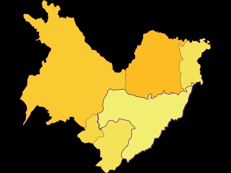 Плотность населения в Sankt Martin an der Raab
