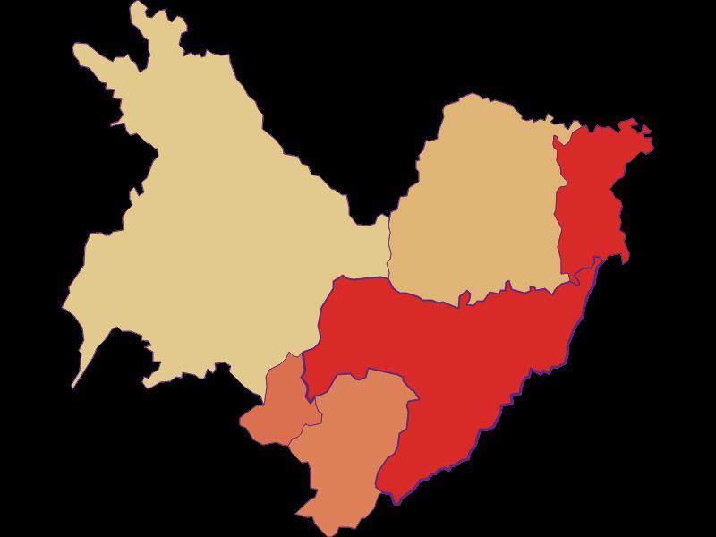 Population development since 1869 in Sankt Martin an der Raab