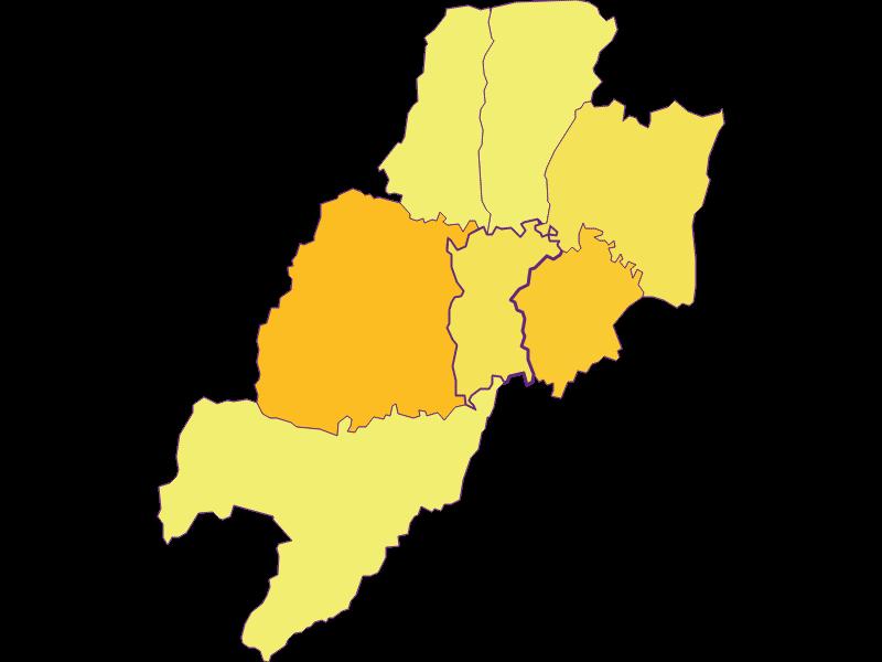 Population density in Weichselbaum