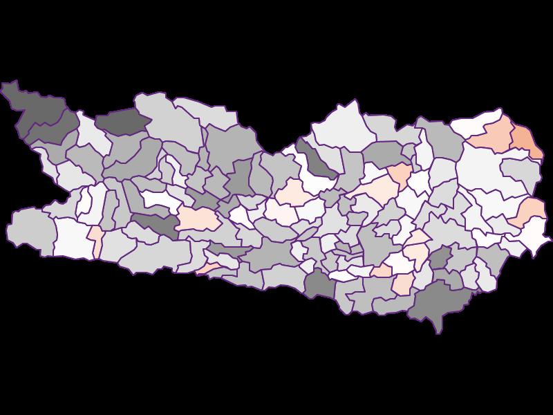 Bevölkerungsaktivität: Kärnten - Österreich - Geographie, Wirtschaftskunde, Statistik | Similio