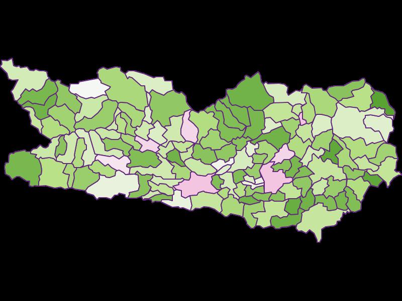 Заселенность в Kärnten