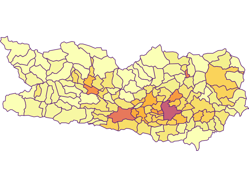 Population Density | Carinthia