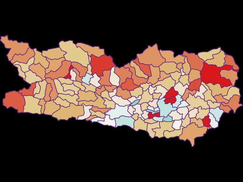 Демография с 2011 года в Kärnten
