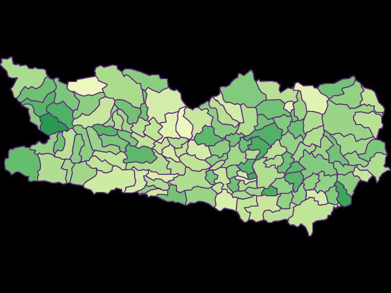 Under 15: Carinthia - Austria - Geography, business and economics, statistics | Similio