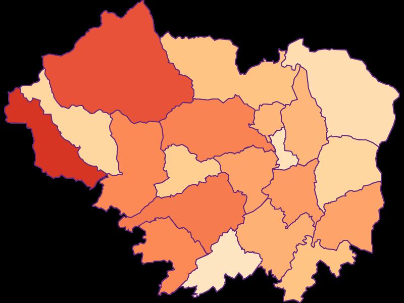 Household size in Sankt Veit an der Glan