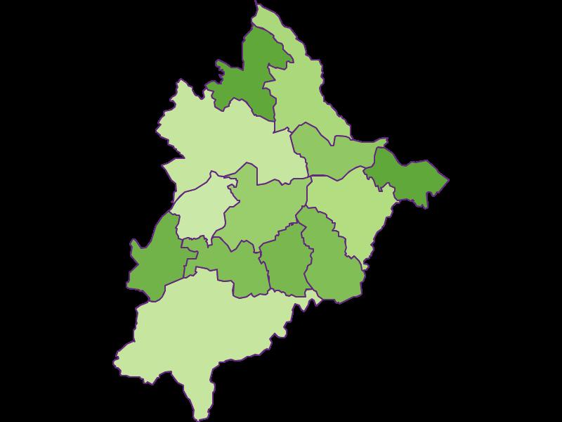 Заселенность в Völkermarkt