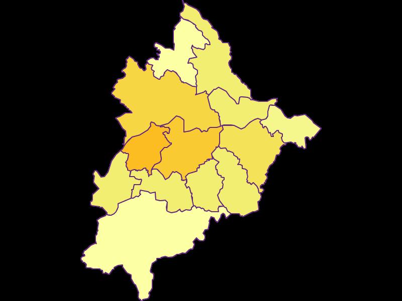 Плотность населения в Völkermarkt