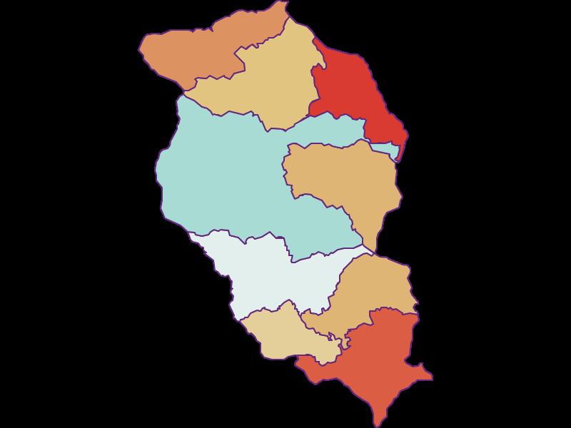 Population development since 1869 in Wolfsberg