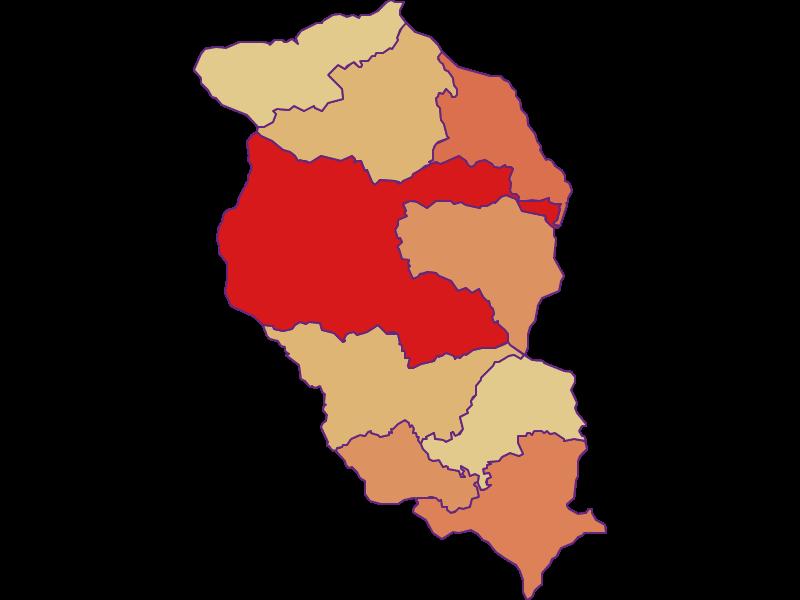 Population development since 2011 in Wolfsberg