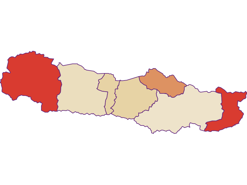 Population development since 1869 in Hermagor