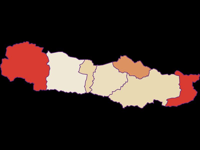 Population development since 1900 in Hermagor