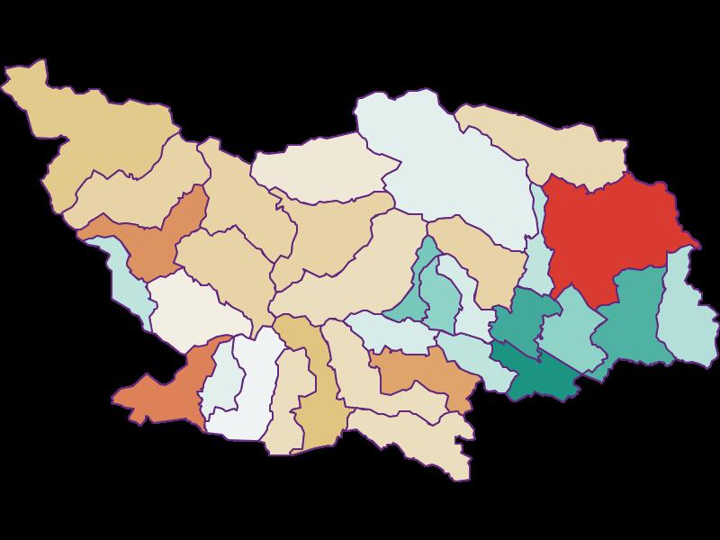 Population development since 1869 in Spittal an der Drau