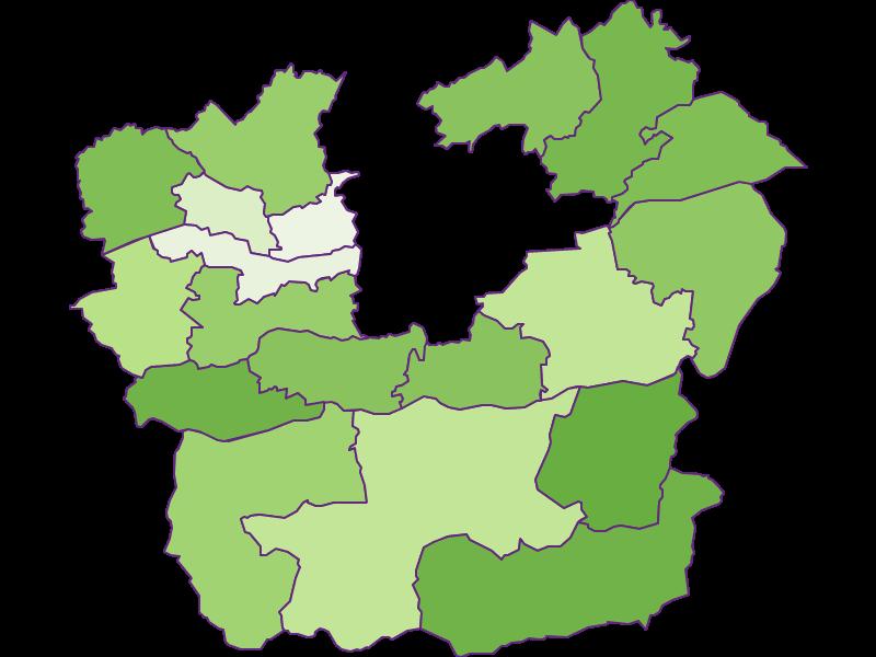 Заселенность в Klagenfurt Land