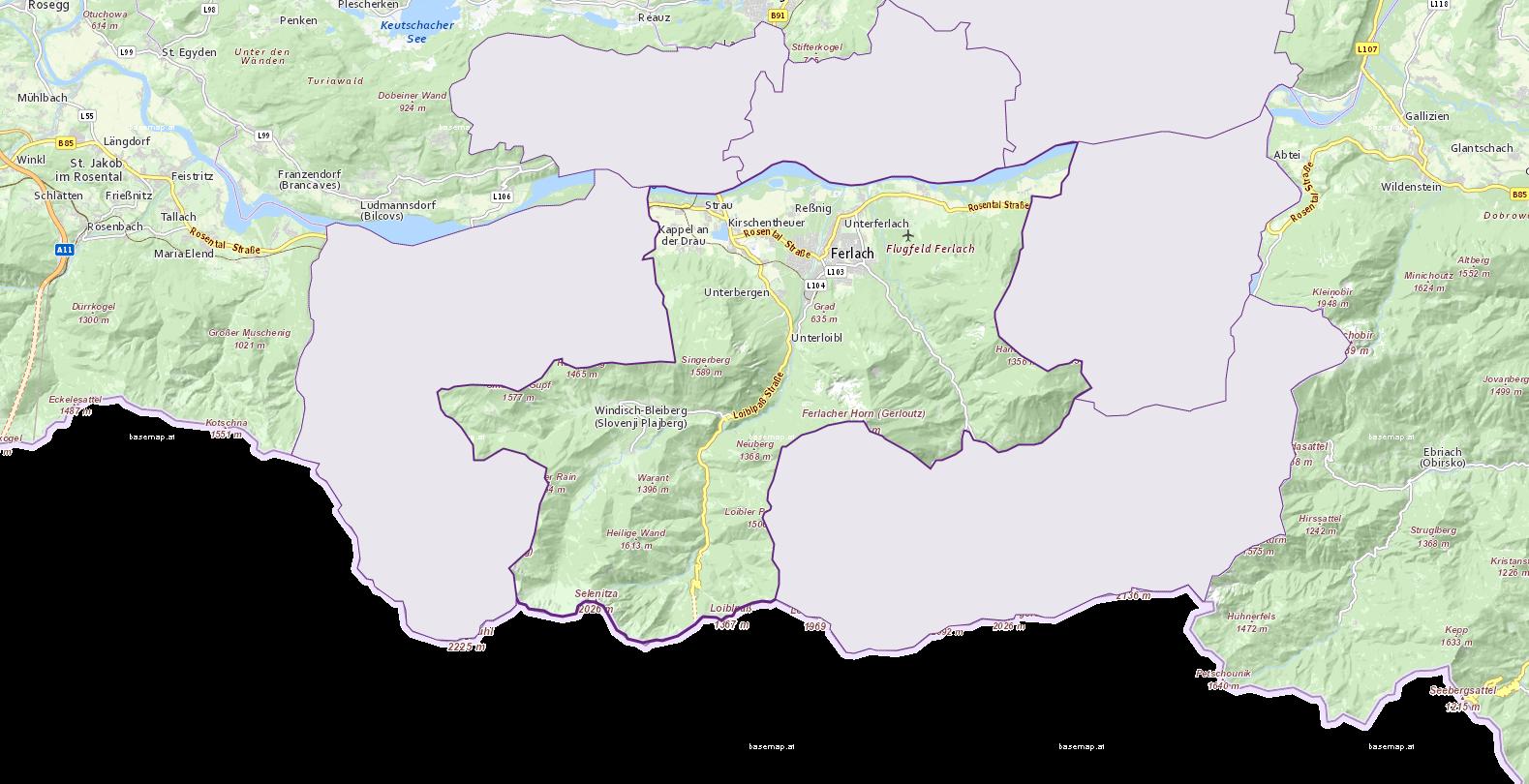 Ferlach - Kärnten - Geographie, Wirtschaftskunde, Statistik | Similio