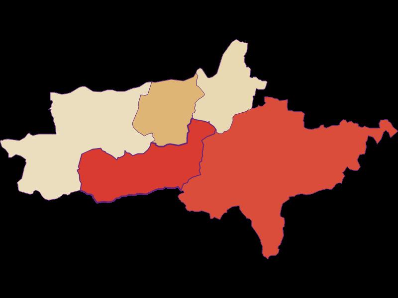 Population development since 1900 in Zell