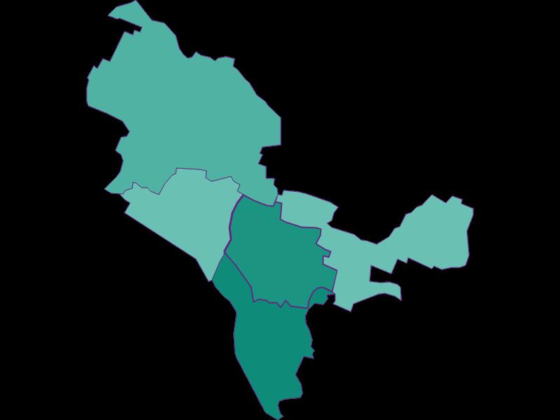 Демография с 1869 года в Bisamberg