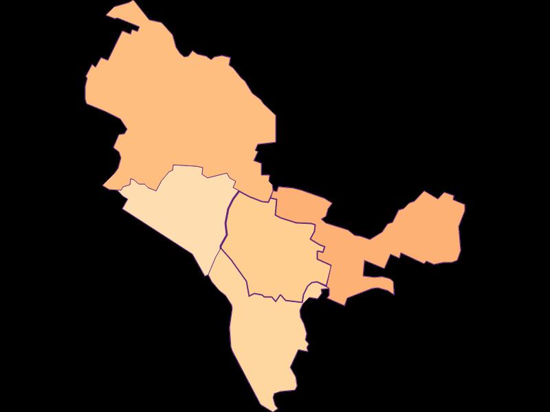 Размер домохозяйства в Bisamberg
