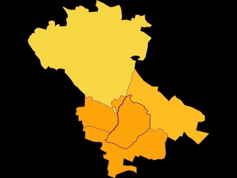 Population density in Enzersfeld im Weinviertel
